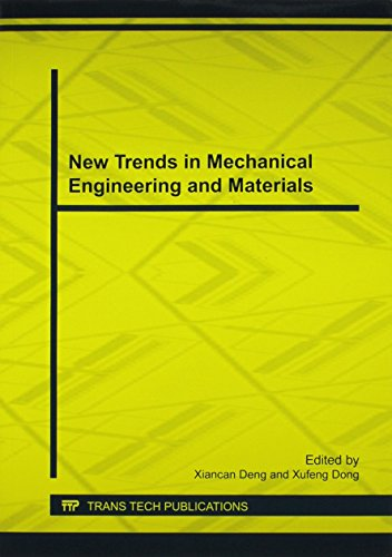 9783037855591: New Trends in Mechanical Engineering and Materials (Applied Mechanics and Materials)