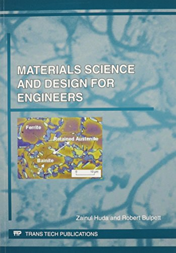 9783037859988: Materials Science and Design for Engineers (Materials Science Foundations)