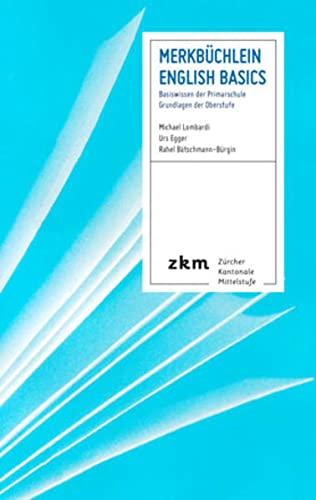 9783037941454: Merkbüchlein Englisch: Basiswissen der Primarschule - Grundlagen der Oberstuf...