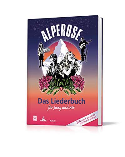 9783038124450: Alpenrose - Das Liederbuch für Jung und Alt