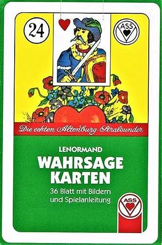 9783038191193: ASS - Lenormand (Symbole): Die echten Altenburg-Spielkarten