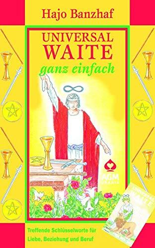 9783038193104: Universal Waite - ganz einfach: Set mit Karten und Buch