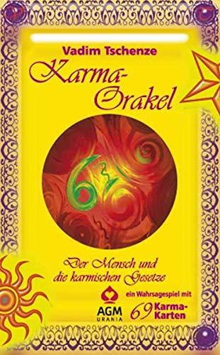 9783038193197: Karma Orakel: Set mit Buch und Karten/Der Mensch und die karmischen Gesetze