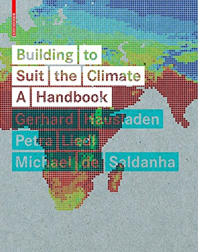 9783038210740: Building to Suit the Climate: A Handbook