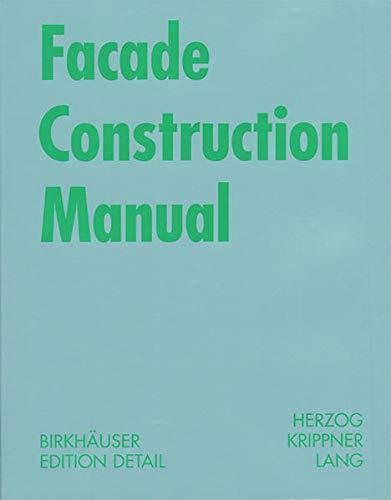 9783038212850: Facade Construction Manual