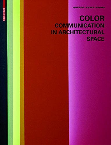 9783038214236: Color - Communication in Architectural Space