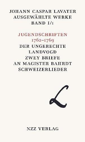 Johann Caspar Lavater. Ausgewählte Werke / Johann Caspar Lavater Ausgewählte Werke ...