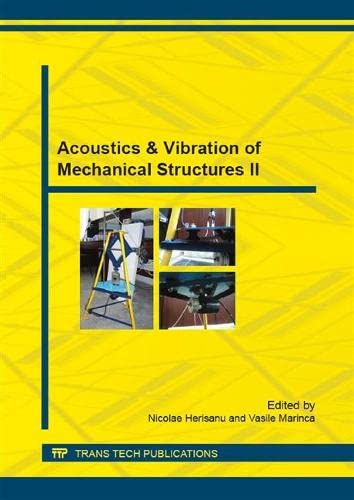 9783038356288: Acoustics & Vibration of Mechanical Structures (Applied Mechanics and Materials)