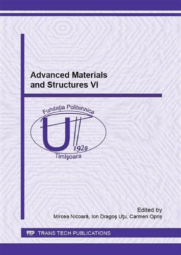 9783038357117: Advanced Materials and Structures 6 (Solid State Phenomena)