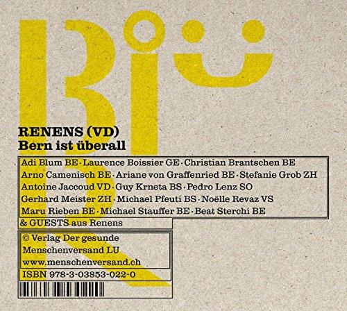 Renens, Audio-CD: Bern ist überall