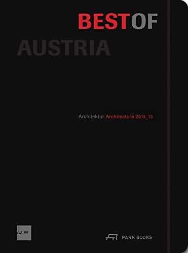 9783038600367: Best of Austria: Architecture 2014_15
