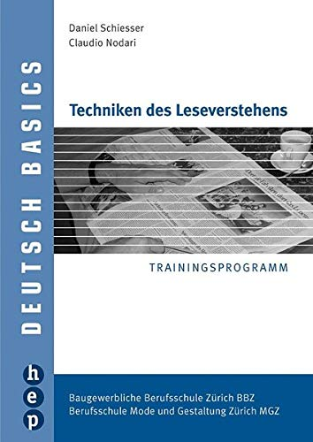 9783039051953: Techniken des Leseverstehens by Nodari, Claudio; Schiesser, Daniel