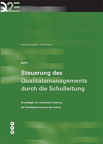 9783039052868: Q2E - Qualität durch Evaluation und Entwicklung [Broschiert] by Norbert Landw...