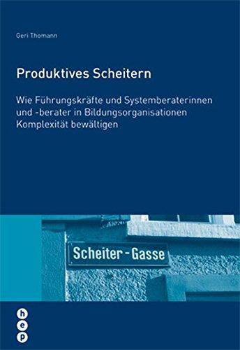 9783039054602: Produktives Scheitern