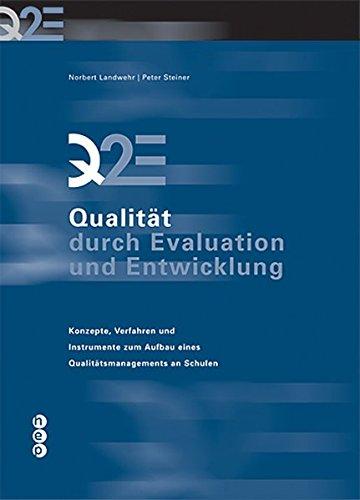 9783039054725: Q2E - Qualität durch Evaluation und Entwicklung