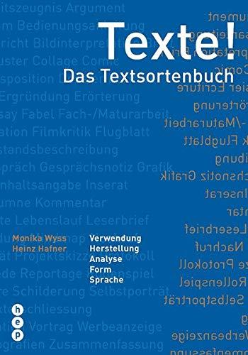 9783039058037: Texte! - Das Textsortenbuch