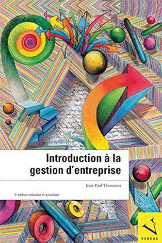 9783039091287: Introduction à la gestion d'entreprise by Thommen, Jean-Paul