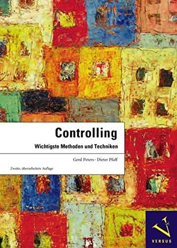 9783039091331: Controlling: Wichtigste Methoden und Techniken
