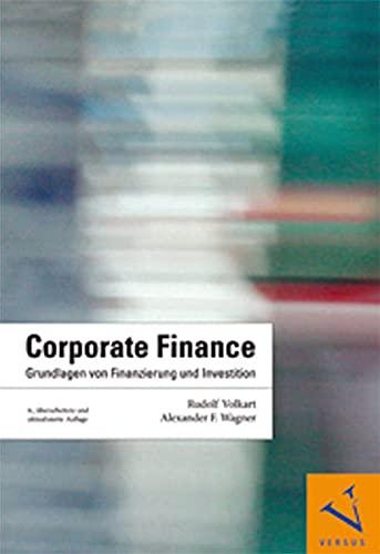 Corporate Finance: Rudolf Volkart