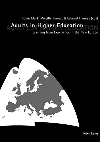 Adults in Higher Education: Mark R./Pouget M./Thomas E.