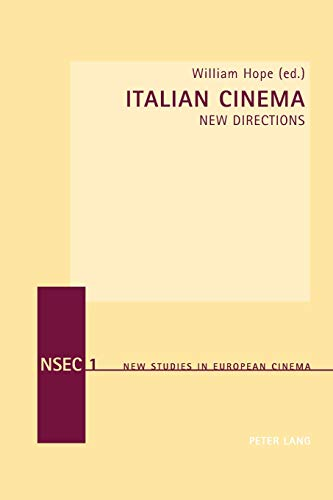 9783039102822: Italian Cinema: New Directions (New Studies in European Cinema) (v. 1)