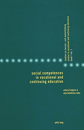 9783039103454: Social Competences in Vocational and Continuing Education (Studies in Vocational and Continuing Education)