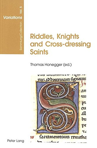 9783039103928: Riddles, Knights and Cross-dressing Saints: Essays on Medieval English Language and Literature (Sammlung/Collection Variations)