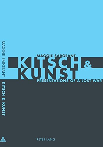 9783039105120: Kitsch & Kunst: Presentations of a Lost War