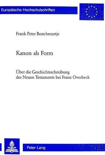 Kanon als Form: Frank Peter Bestebreurtje