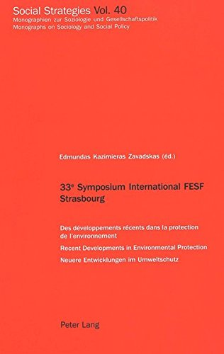 33 e Symposium International FESF Strasbourg: Des: Peter Lang AG,