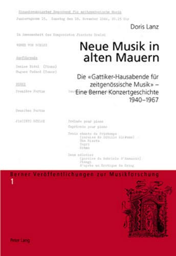 Neue Musik in alten Mauern: Doris Lanz