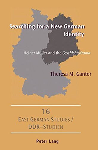 9783039110483: Searching for a New German Identity: Heiner Müller and the