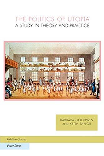 9783039110803: The Politics of Utopia: A Study in Theory and Practice (Ralahine Utopian Studies)