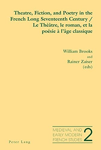 Theatre, Fiction, and Poetry in the French