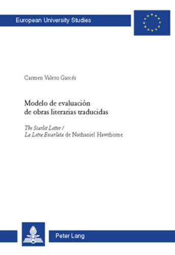 9783039112630: Modelo de evaluación de obras literarias traducidas: