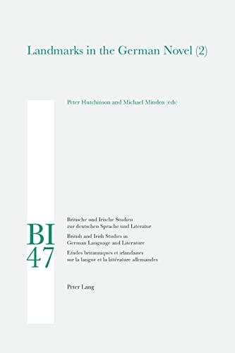 9783039115662: Landmarks in the German Novel