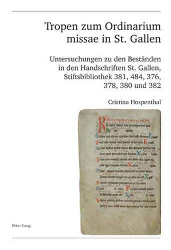 Tropen zum Ordinarium missae in St. Gallen: Cristina Hospenthal
