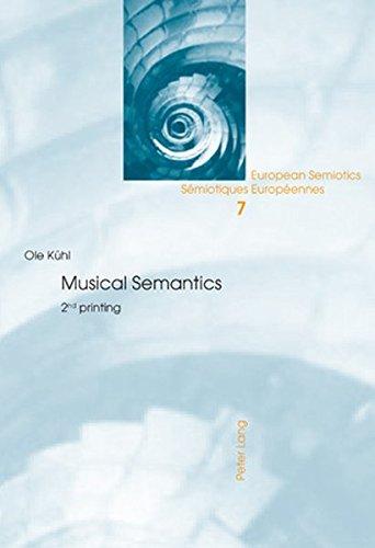 Musical Semantics Second Printing: Kühl, Ole