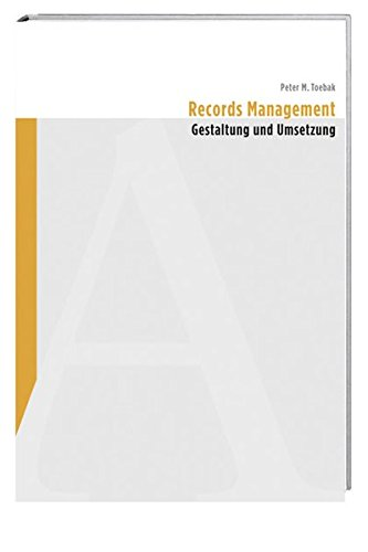 Records Management: Peter M. Toebak