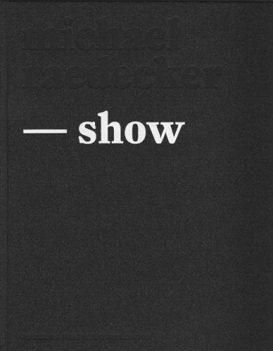 9783039390373: Michael Raedecker: Show