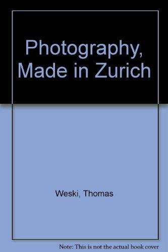 9783039390502: Photogrphy Zurich