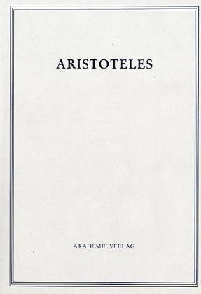 9783050000244: Ueber Die Seele (Aristoteles Werke)