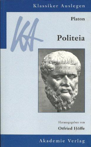 9783050028699: Platon - Politeia