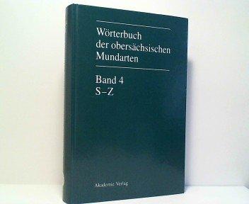 9783050029320: Woerterbuch Der Obersaechsischen Mundarten Begruendet Von Theodor Frings / Rudolf Grobe