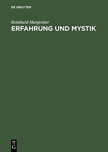 9783050029603: Erfahrung Und Mystik: Grenzen Der Symbolisierung (German Edition)