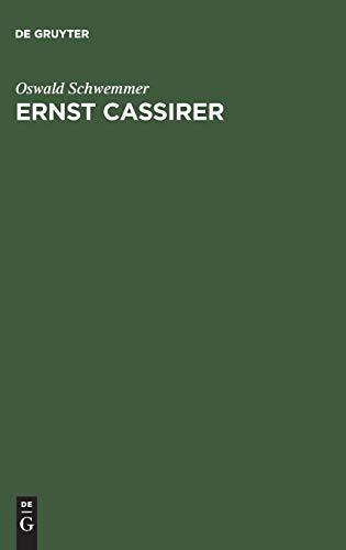 9783050031057: Ernst Cassirer: Ein Philosoph Der Europäischen Moderne