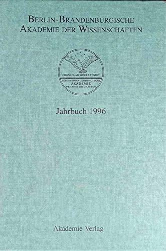 9783050031804: Jahrbuch 1996