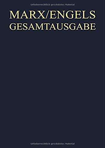9783050033518: Gesamtausgabe (MEGA): Marx, Karl; Engels, Friedrich, Bd.1 : Werke, Artikel, Literarische Versuche bis Marz 1843, 2 Bde.: Bd 1
