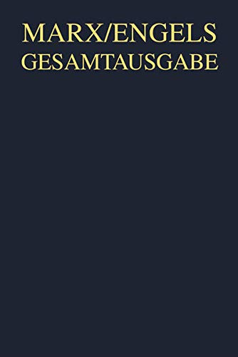 9783050033822: Gesamtausgabe (MEGA), BAND 10, Karl Marx: Das Kapital. Kritik der politischen �konomie. Erster Band, Hamburg 1890