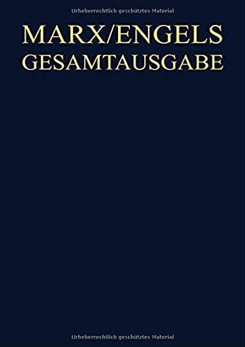 9783050033921: Karl Marx / Friedrich Engels: Exzerpte Und Notizen, 1843 Bis Januar 1845